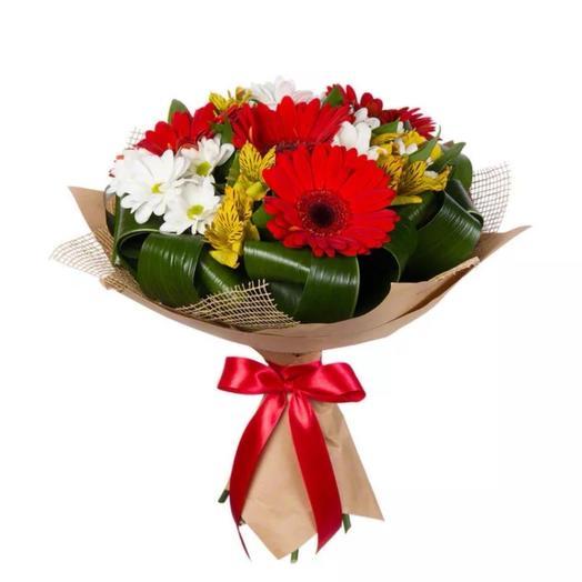 Букет «Цветочная всыпка»: букеты цветов на заказ Flowwow