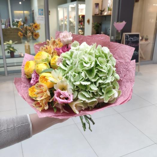 """Букет """"Брусничка"""": букеты цветов на заказ Flowwow"""