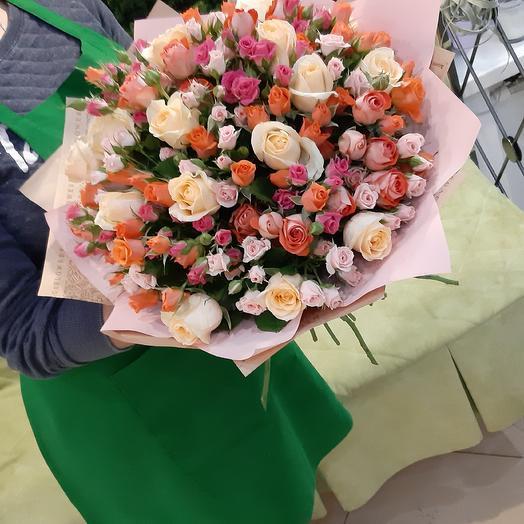 Соланж: букеты цветов на заказ Flowwow