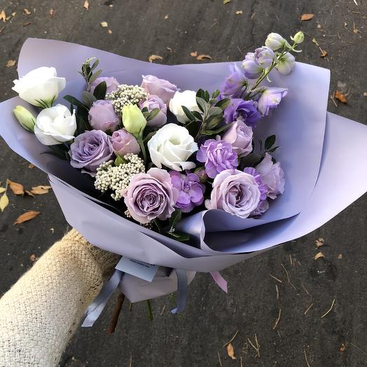 Lilac tenderness: flowers to order Flowwow