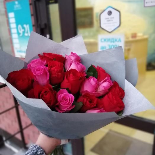 17 роз 💐: букеты цветов на заказ Flowwow