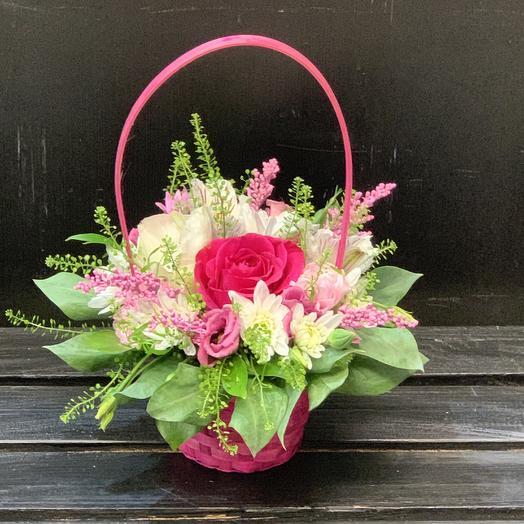 Комплимент от меня: букеты цветов на заказ Flowwow