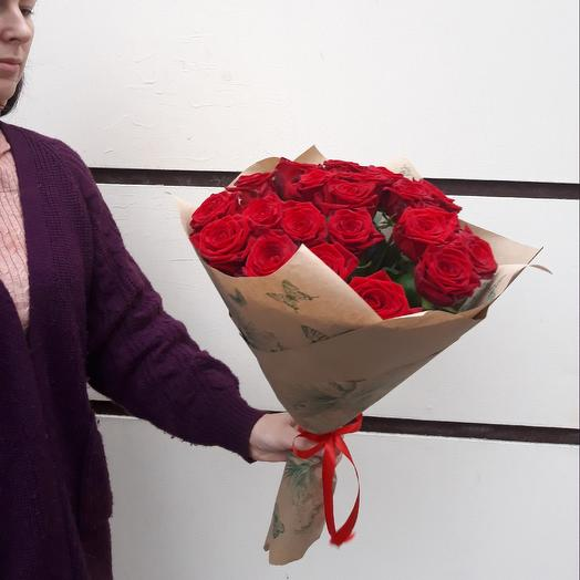 21 red rose