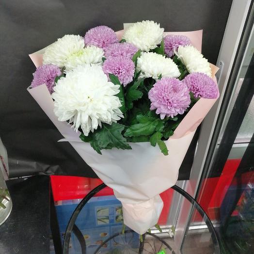 Облако из хризантем: букеты цветов на заказ Flowwow
