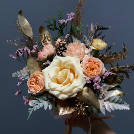 "Floral miniature ""Vladlena"": flowers to order Flowwow"