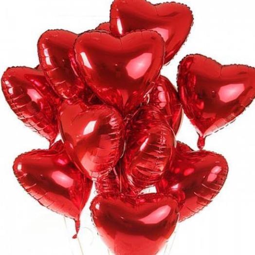 Фольгированные шары: букеты цветов на заказ Flowwow