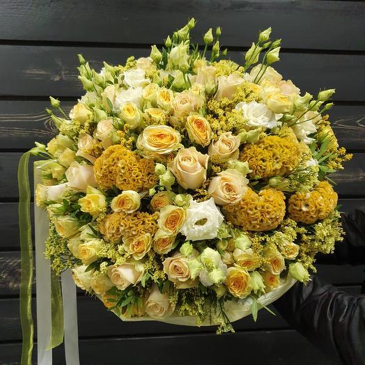 Букет жёлтый: букеты цветов на заказ Flowwow