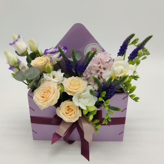 Нежно про любовь: букеты цветов на заказ Flowwow