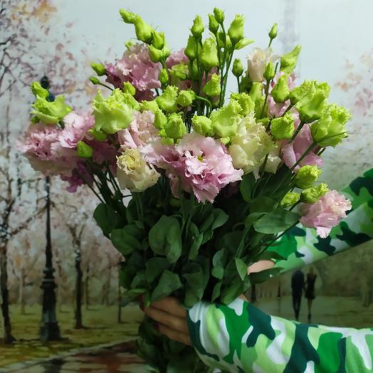 Лизиантус 9: букеты цветов на заказ Flowwow