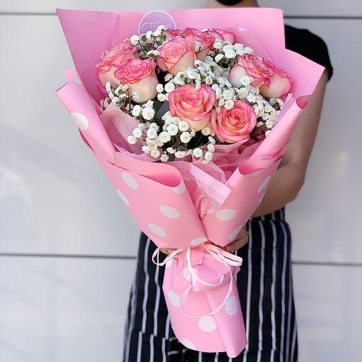 Букет цветов «Шарлиз»