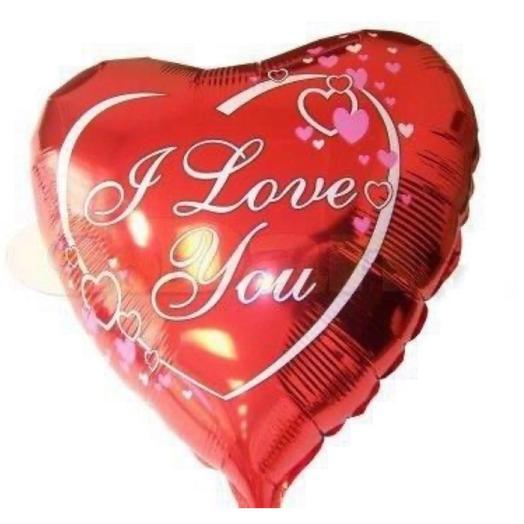 Шар «I love you: букеты цветов на заказ Flowwow