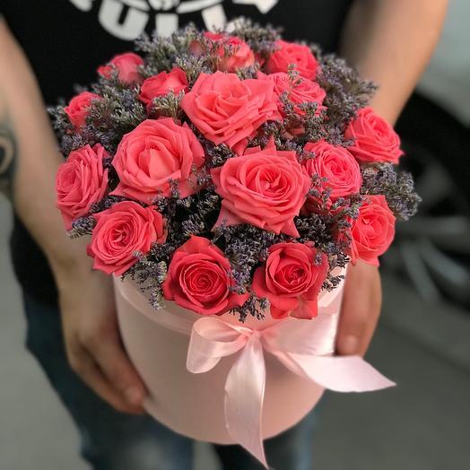 Кустовые розы «Барбадос»