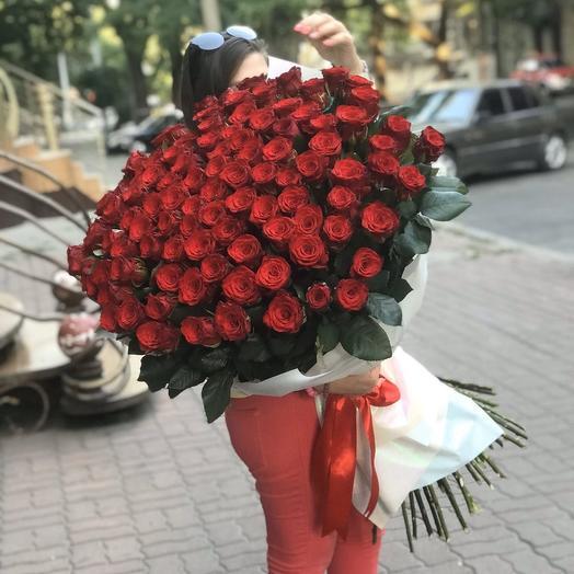101 Roses 100cm