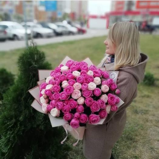 51пионовидная роза