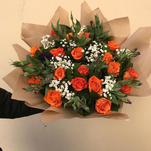 Оранжевое кружево