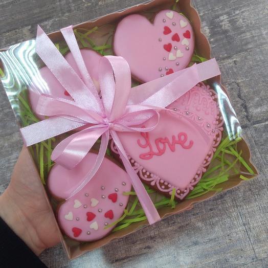 Gingerbread heart 💓