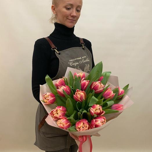 Тюльпаны пионовыдные
