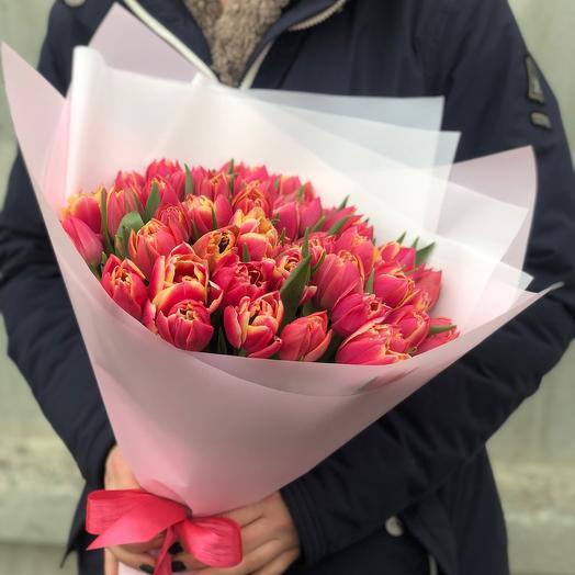 Букет Тюльпаны Пиончики