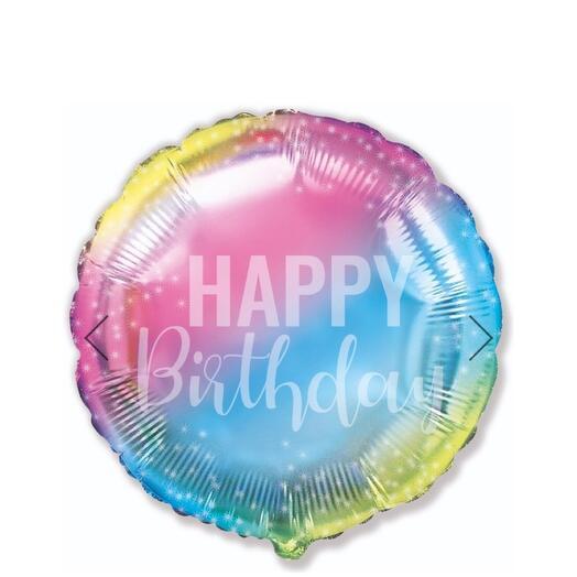 Шар «Happy Birthday