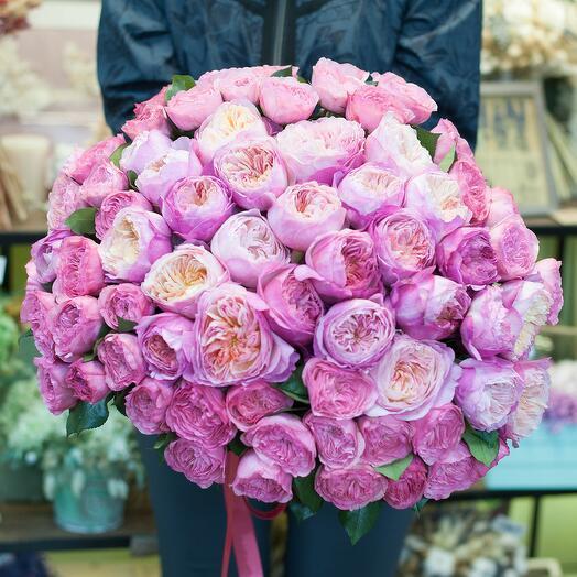 Букет цветов Прогулка по Лондону