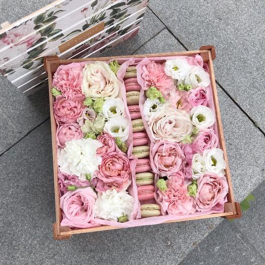Цветочный ящик с макаруни