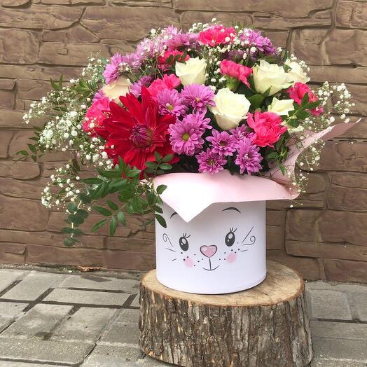 Цветы в коробке (Бубрчка )