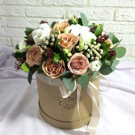 Латте: букеты цветов на заказ Flowwow