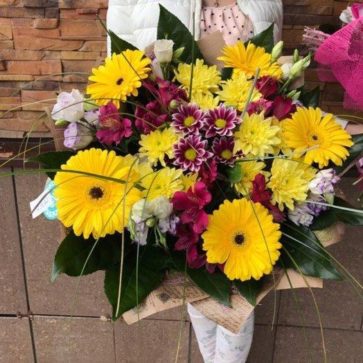 Герберы в Крафте: букеты цветов на заказ Flowwow