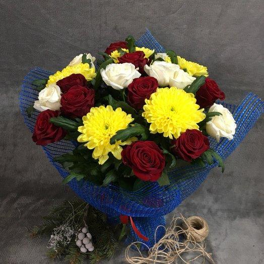 """Букет """" Закат"""": букеты цветов на заказ Flowwow"""