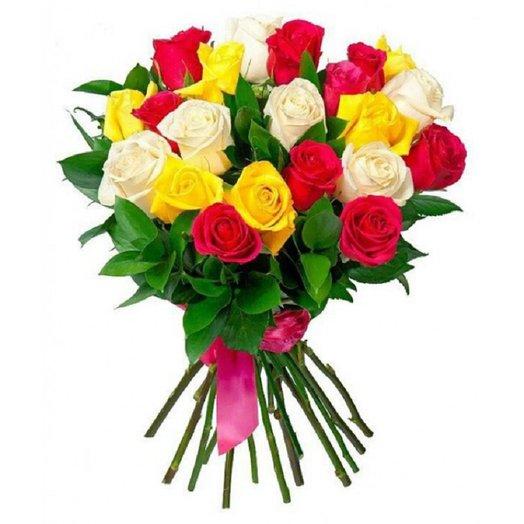 Букет из красивейших роз: букеты цветов на заказ Flowwow