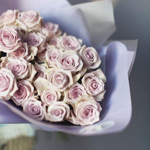 Моно букет из роз мента: букеты цветов на заказ Flowwow