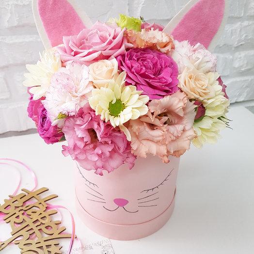 Зайка: букеты цветов на заказ Flowwow