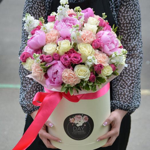 Ванильная цветочная Панна Котта : букеты цветов на заказ Flowwow