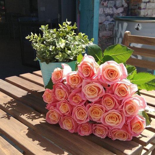 "Букет ""Розовый Пятачок"": букеты цветов на заказ Flowwow"