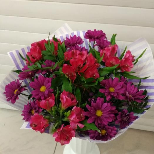 """Букет """"Вишневый сок"""": букеты цветов на заказ Flowwow"""