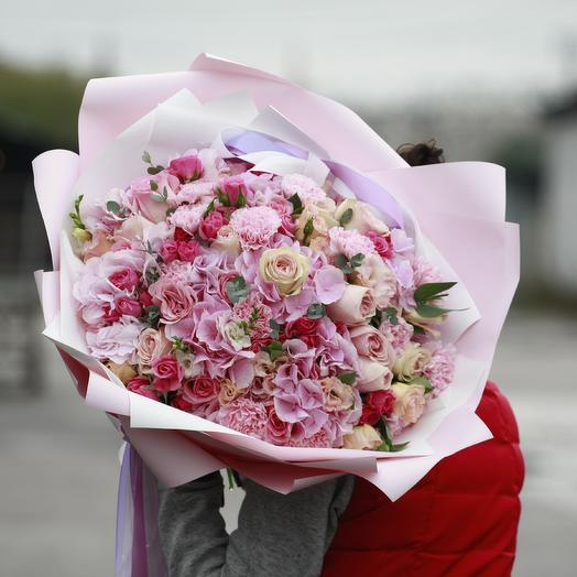 Романтическое приключение: букеты цветов на заказ Flowwow
