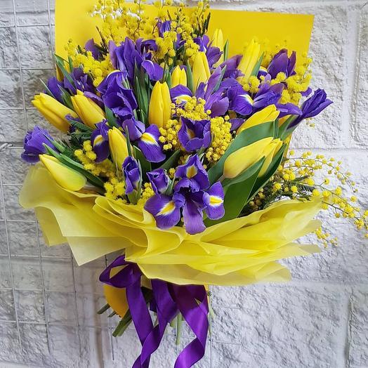 """Букет """"Весеннее солнце"""": букеты цветов на заказ Flowwow"""