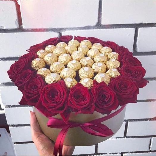 Сладкий букет «Царский»: букеты цветов на заказ Flowwow