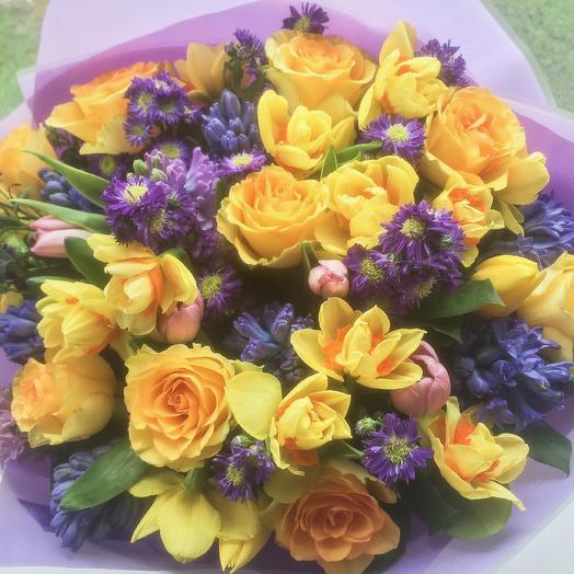 Звездная ночь: букеты цветов на заказ Flowwow