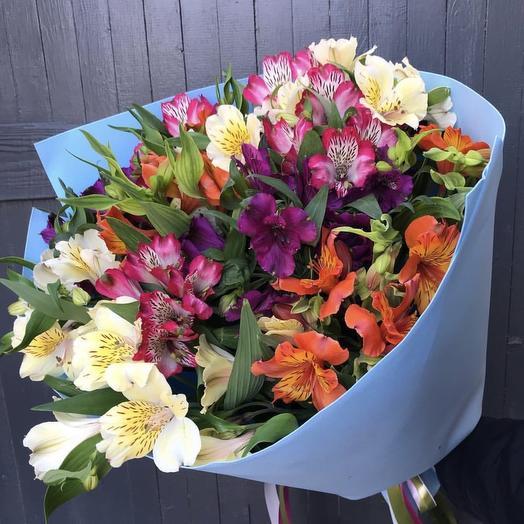 Яркое облако: букеты цветов на заказ Flowwow