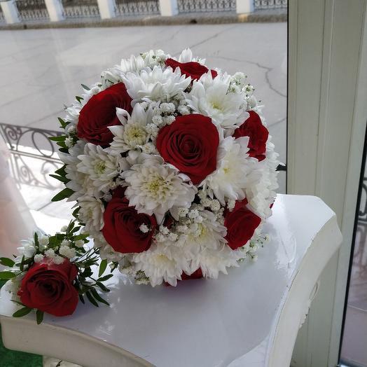 """Букет невесты """"Классика"""": букеты цветов на заказ Flowwow"""