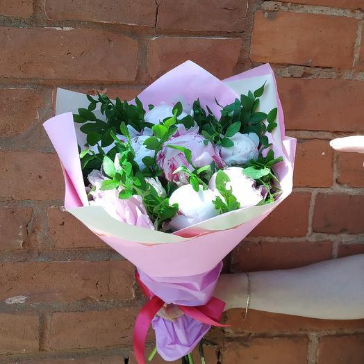 Пионовый: букеты цветов на заказ Flowwow