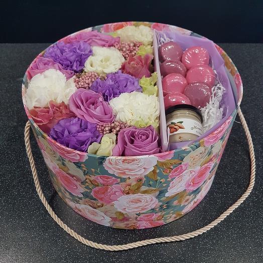 Сладости к чаю: букеты цветов на заказ Flowwow