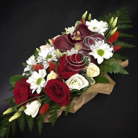 Влюбленный романтик: букеты цветов на заказ Flowwow