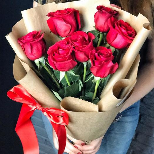 5 red roses: flowers to order Flowwow