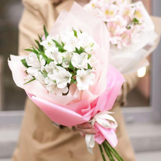 Альтромерии: букеты цветов на заказ Flowwow