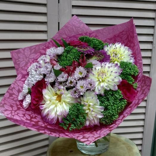 Букет  Малиновый фрэш: букеты цветов на заказ Flowwow