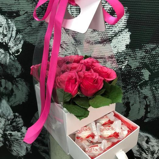 """Коробка """"Романтик"""": букеты цветов на заказ Flowwow"""
