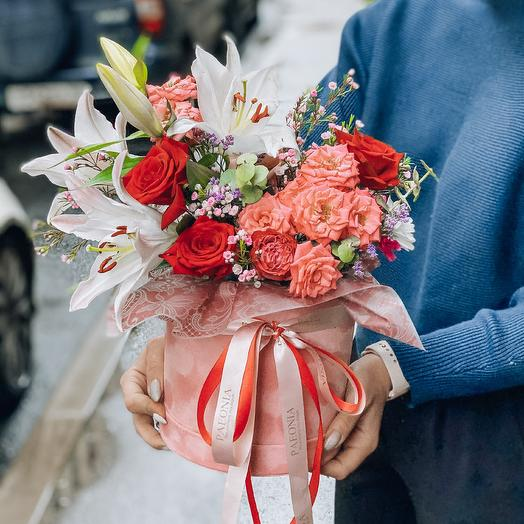 Бархатный восторг: букеты цветов на заказ Flowwow