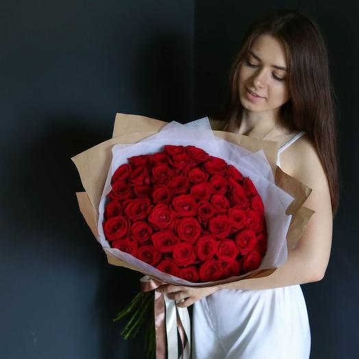Букет 101 роз Экспловер